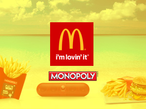 Monopoly at McDonald's