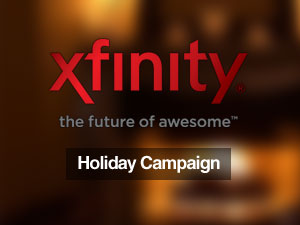 Xfinity Holiday Campaign
